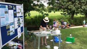 Community outreach: River Dipping with the outdoor lab