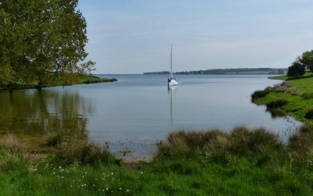Once controversial Rutland Water now provides a regional centre for nature and water sports.
